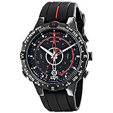 Timex T2N720 Orologio Analogico da Polso da Uomo, Silicone, Nero