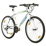 Multibrand, PROBIKE PROBIKE 26, 26 x 19 480mm, 26 Zoll, Mountainbike, 18 Gang, Für Herren, Weiß