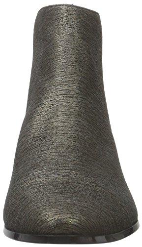 Calvin Klein Finilla Foiled Suede/Elastic, Stivali Chelsea Donna Multicolore (tnb)