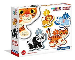 Clementoni-Mi Primer Puzzle progr.Animales 3-6-9-12, Multicolor (20810)