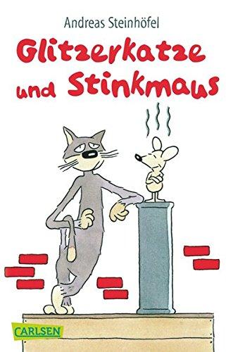 Buchseite und Rezensionen zu 'Glitzerkatze und Stinkmaus' von Andreas Steinhöfel