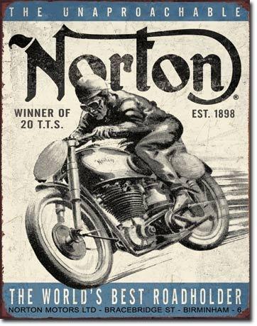 norton-winner-blechschild-usa-gross-neu-40x31cm-s2458