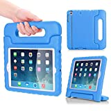 MoKo Case per Apple iPad Mini 3 / 2 / 1 - Custodia Protettiva Antiurto con Supporto per Bambini per Apple iPad Mini 3 2014, Mini 2 2013 e Mini 2012, BLU