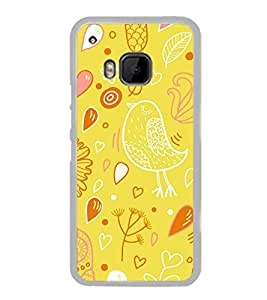 ifasho Designer Phone Back Case Cover HTC One M9 :: HTC One M9S :: HTC M9 ( Blue White Green Colorful Pattern Design )