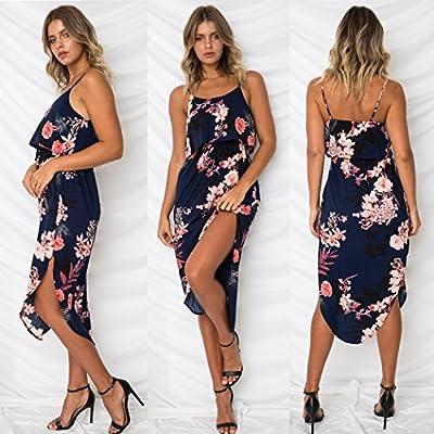 MODA - Vestido Tirantes - Floral