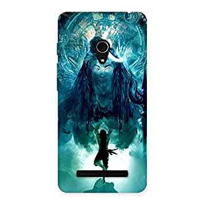 NEO WORLD Remarkable Power Shiva Om Back Case Cover for Zenfone 5