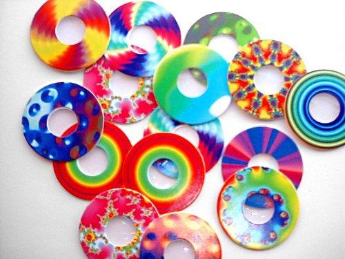 Preisvergleich Produktbild Beugung Reiben–Rainbow Cut-Outs–Fun mit Diffraction Reiben, Feuerwerk und Laser zeigt und Raves–Fun Alternative zu Feuerwerk Gläser (20Cut-Outs Pro Bestellung)