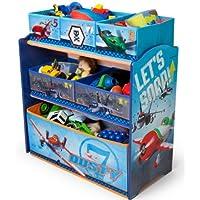 Preisvergleich für Delta Children's Products Disney Planes Multi Toy Organizer für Spielzeug aus Holz mit Textilschubladen Aufbewahrungsbox mit Schubladen