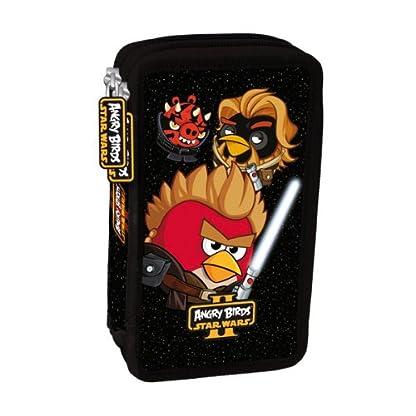 Star Wars Angry Birds 26 x piezas de dos pisos de muelle funda estuche relleno, New