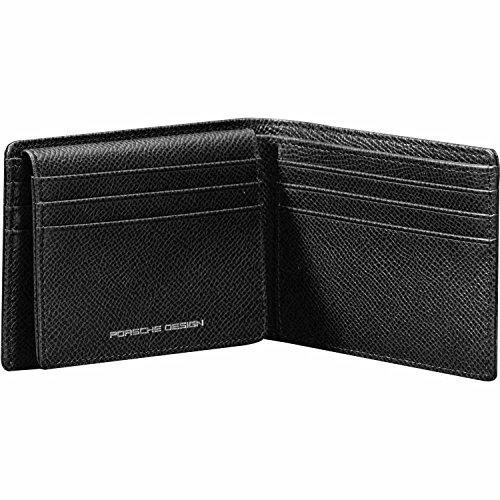Porsche Design  French Classic 3.0 CardHolder H9, Porte-cartes homme Black (Noir)