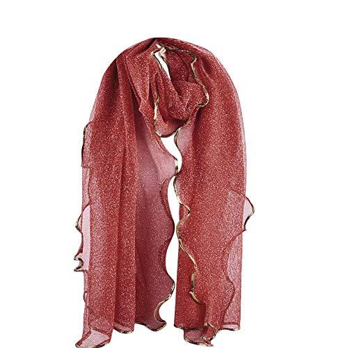 Rovinci donne moda lungo tinta unita maglia morbido avvolgere sciarpa sciarpe con scialle da donna scialle in seta pura stole elegante poliestere coprispalle scialli ragazze