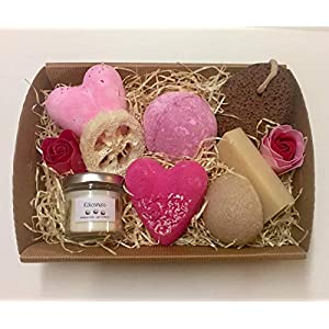 Badegeschenkset Präsent, Geschenk, Valentinstag, Muttertag