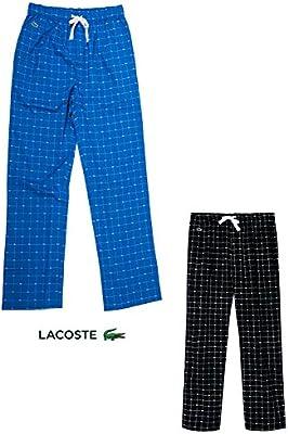 Lacoste Hombres pantalones de pijama Lacoste Salón Pantalón largo - negro o azul