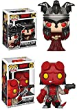 Funko POP! Hellboy: The Queen of Blood + Hellboy – Stylized Comic Vinyl Figure Set NEW