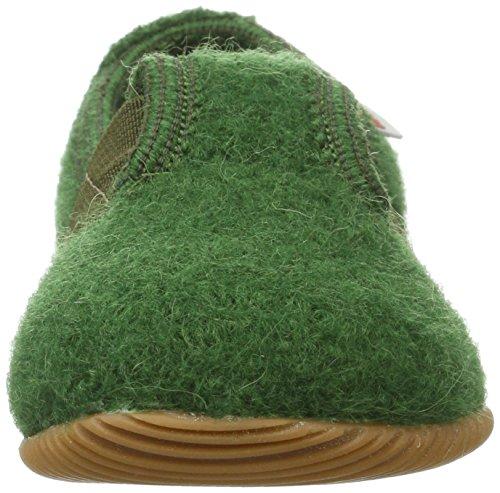 Giesswein Weidach, Chaussons Mixte Enfant Vert (Avocado)