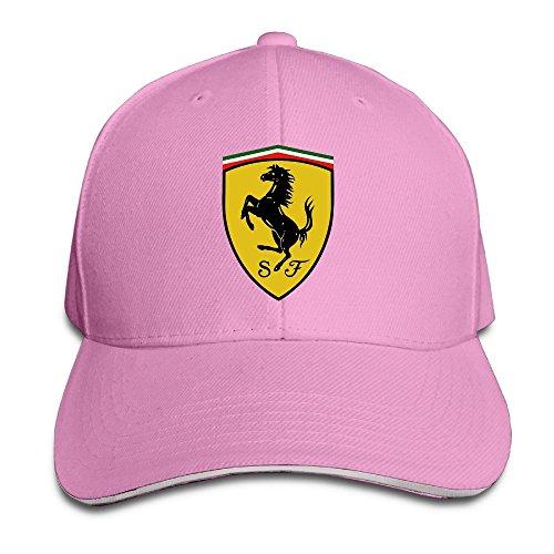 Sport-sandwich-cap (MaNeg Ferrari Team Sandwich Peaked Hat & Cap, Unisex, Rose)
