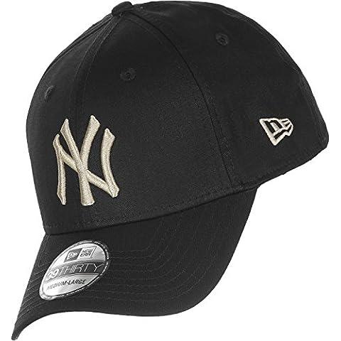 New Era Cap 39Thirty Base New York Yankees Negro negro/gris Talla:talla media/grande