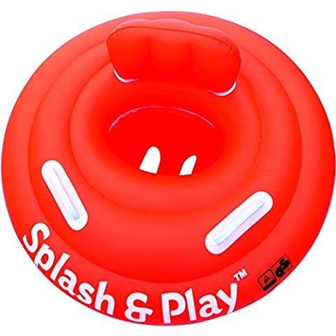 Bestway 32103 baby swim float - baby swim floats (Swim seat, Rojo, Monótono, Vinilo, Full color