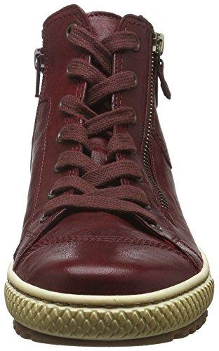Gabor Damen Jollys Hohe Sneakers Rot (dark-red 55)