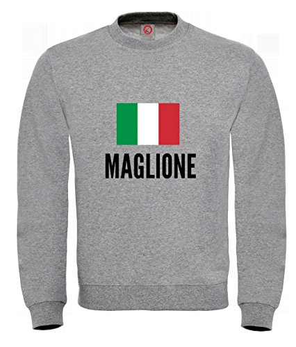 Felpa Maglione city Gray