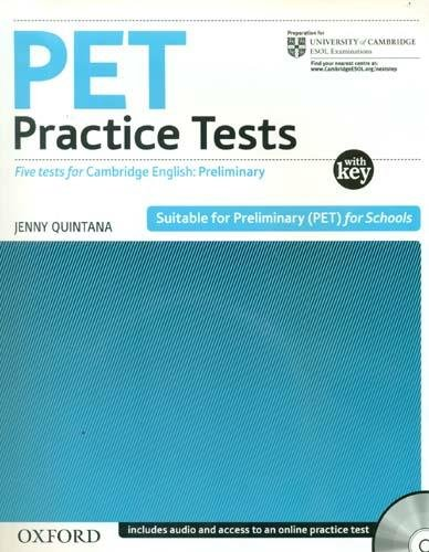 PET Practice Tests:: Preliminary English Test Practice Tests: Practice Tests With Key and Audio CD Pack (Preliminary English Test (Pet) Practice Tests)