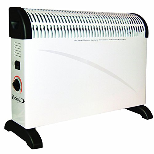 Babz 2kw 2000w Convector Heater With Thermostat In