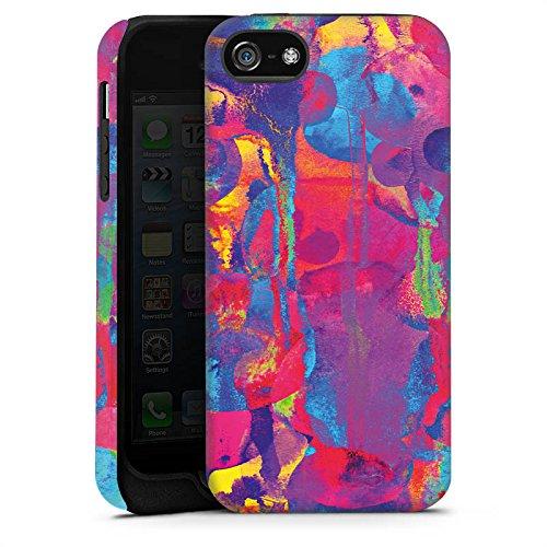 Apple iPhone 6 Housse Étui Silicone Coque Protection Explosion de couleurs Couleurs couleurs Cas Tough terne