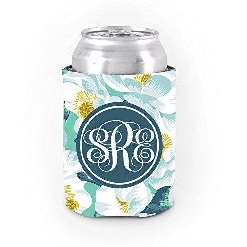Personalisierte kann Kühler Dickes Neopren Blumen Können Koozies Funny Bier kann Halter Kühler Custom Geschenke für Frauen