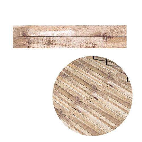 LUFA 5M Selbstklebendes Holz Korn Boden Kontakt Papier Abdeckung PVC abnehmbare dekorative Film Tapete Aufkleber (Kontakt-papier-holz)