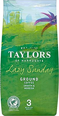 Taylors of Harrogate Lazy Sunday Ground Coffee (6 x 227g) from Taylors of Harrogate
