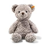Steiff Soft Cuddly Friends Honey Teddybär Kuscheltier, Hellgrau, 38 cm