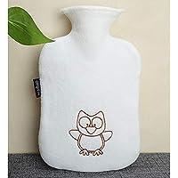 Zhangcaiyun Gummi-Thermoskanne Cute Cartoon Wärmflasche Heißwasser Tasche für Schmerzen kalt mit Abdeckung Große... preisvergleich bei billige-tabletten.eu