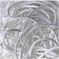 Urhome Bande Plate Élastique | Elastique Couture Tissu Rubans Extensible pour Artisanat à Coudre en Tricot Bricolage...
