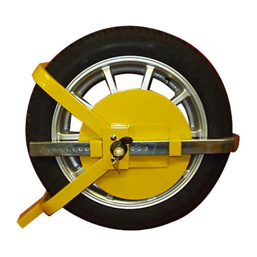CAR VAN WHEEL CLAMP SAFETY LOCK CARAVANS SECURITY SAFE
