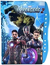 INNOVATIVE PRODUCTS Kid's Lock Password Diary for Birthday Gifts, 15x13x1cm (Avengers)