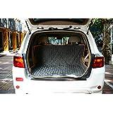 Kofferraumschutz Hunde,Kaka mall Autoschondecke mit Seitenschutz Wasserfestes Universale Kofferraum-Auskleidung und Schutz 127*150