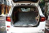 Coprisedile Cane per Auto Kaka mall Impermeabile Antiscivolo Resistente Graffi Facile da Pulire Sedile Posteriore 127x150 CM Grigio
