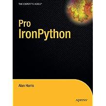 Pro IronPython (Expert's Voice in .NET)