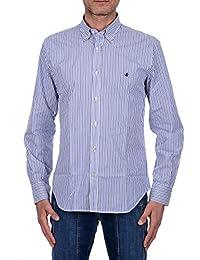 camicia it bianca Amazon Abbigliamento Brooksfield XAqxf