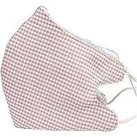 [Rosa kariertes] 2 Stück Anti-Staub Mund Maske Baumwolle warme Mund Maske preisvergleich bei billige-tabletten.eu