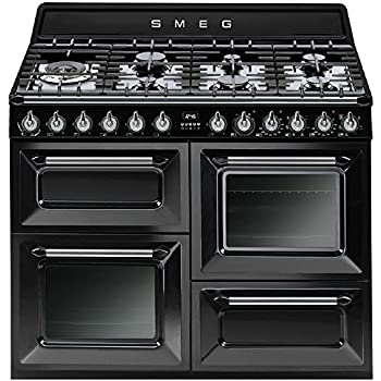 smeg tr93xd gas kombi stand herd edelstahl nostalgieofen gaskochfeld backofen. Black Bedroom Furniture Sets. Home Design Ideas