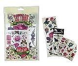 Stelle deinen Kinder Spielzeug Tattoo Adventskalender selber zusammen Spielsachen Mädchen Junge einzelne kleine Spielware Paket (50 Tattoos Mädchen)