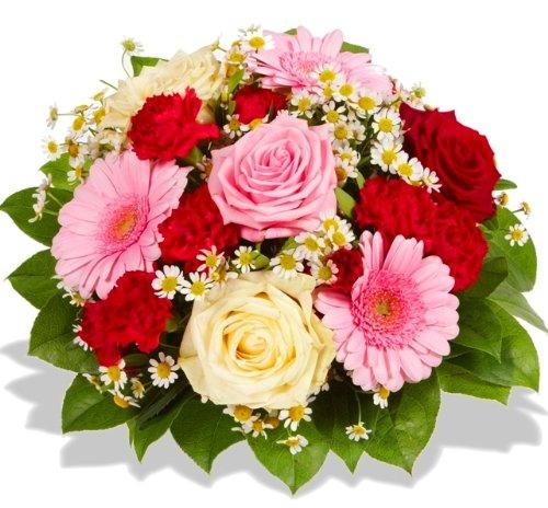 """floristikvergleich.de Blumenstrauß """"Herzensfreude"""""""