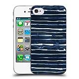 Head Case Designs Offizielle Ninola Weisse Elektrische Lineen Geometrisch Soft Gel Hülle für iPhone 4 / iPhone 4S