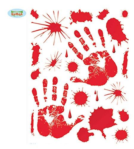 30x39 cms adhésifs de sang en Septembre.