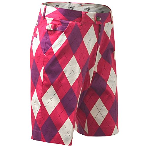 SHORTS DE GOLF HOMMES ROYAL & AWESOME - Back to the Fuchsia