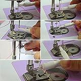 F-eshion infila ago per macchina da cucire, applicatore, inserimento, maniglia, filo per cucire