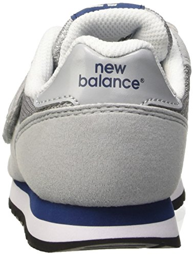 New Balance Nbkv373ybp, Gymnastique mixte enfant Grigio (Grey Blue)
