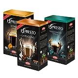Kapsel Adapter Nachfüll Set, passend für Dolce Gusto Maschinen, Espresso, Lungo, Cappuccino, ohne Kapseladapter, 48 Kaffee Kapseln