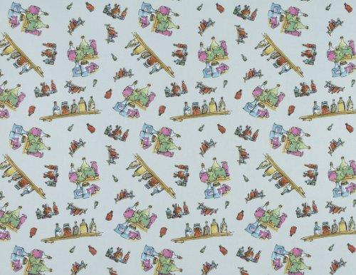 Georges médecine merveilleuse (Pieuvre bouteilles) par Roald Dahl Fantabulous tissus 100% coton–vendu par mètre